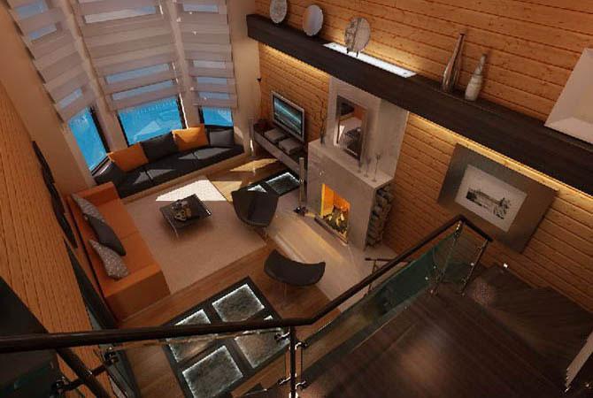 Дизайн 2-х комнатной квартиры 50 кв.м