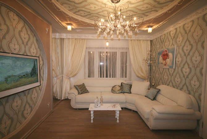 дизайн интерьера 1 комнатной кварт